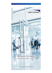 Download of the iSAC-3 access control system flyer