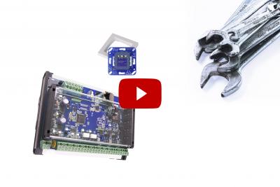 zum Video Inbetriebnahme Zutrittskontroller für Hardware