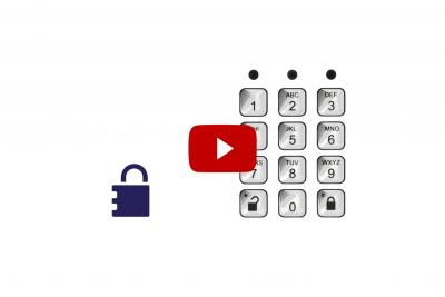zum Video Zutrittsberechtigung über PIN-Code erteilen Teil I