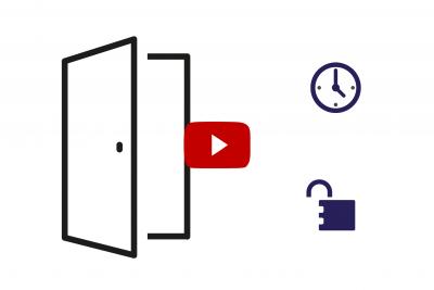 zum Video Zutrittsberechtigung über Zutrittsmatrix