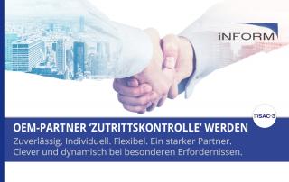 OEM Partner für Zutrittskontrolle werden