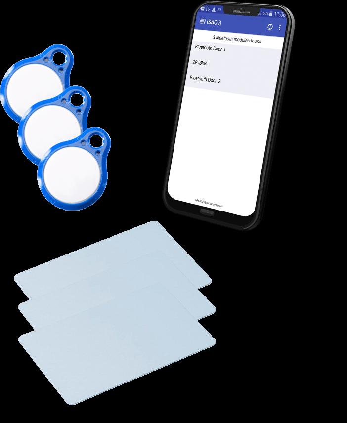 Ausweisarten für Zutrittskontrolle